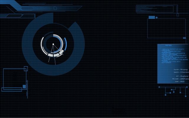 JARVIS Theme by Zenoxen 640x400