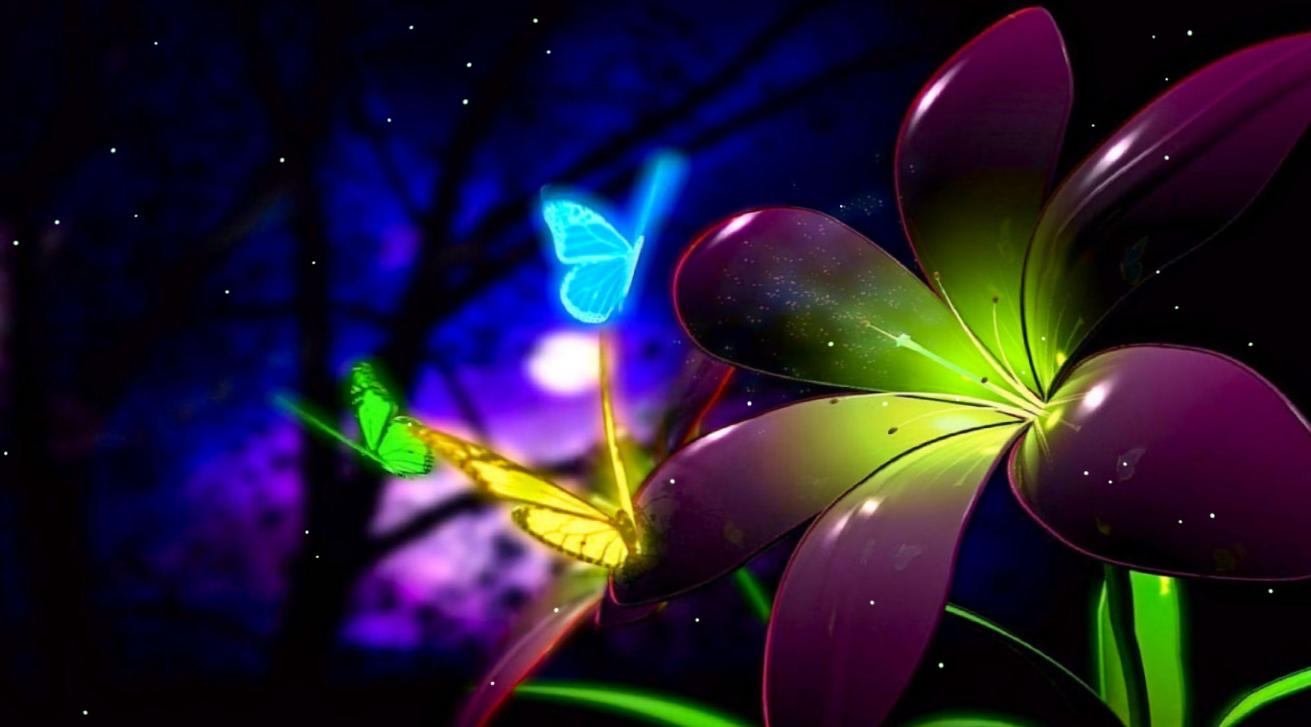 Download Fantastic Butterfly Animated Wallpaper DesktopAnimatedcom 1311x727