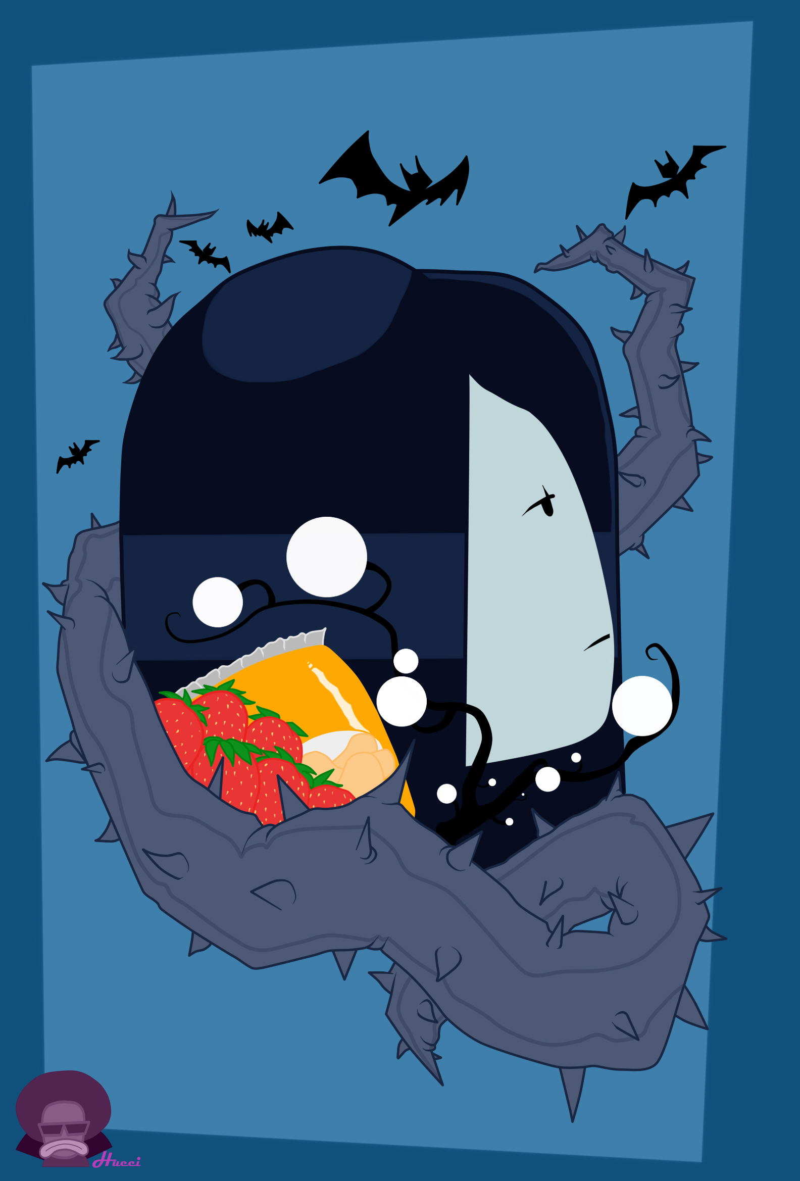 Marceline the Vampire Queen wallpaper by Hueci on Newgrounds 1584x2338