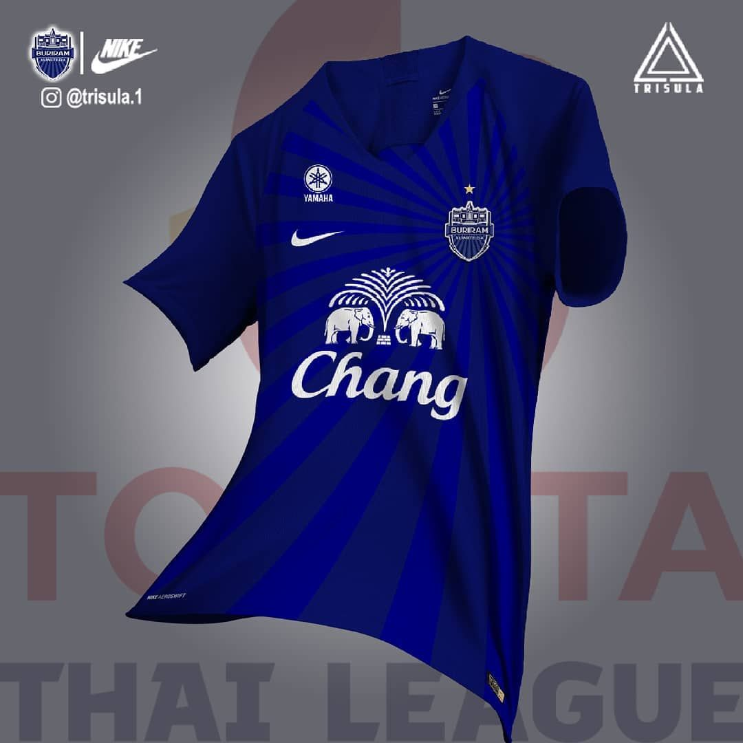 Buriram United FC kit concept GT soccer Jerseys The unit 1080x1080