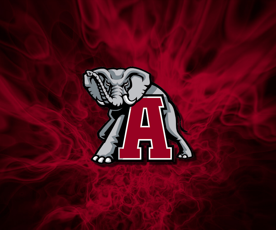 Alabama Football Logo Wallpaper Re flames wallpaper by 960x800