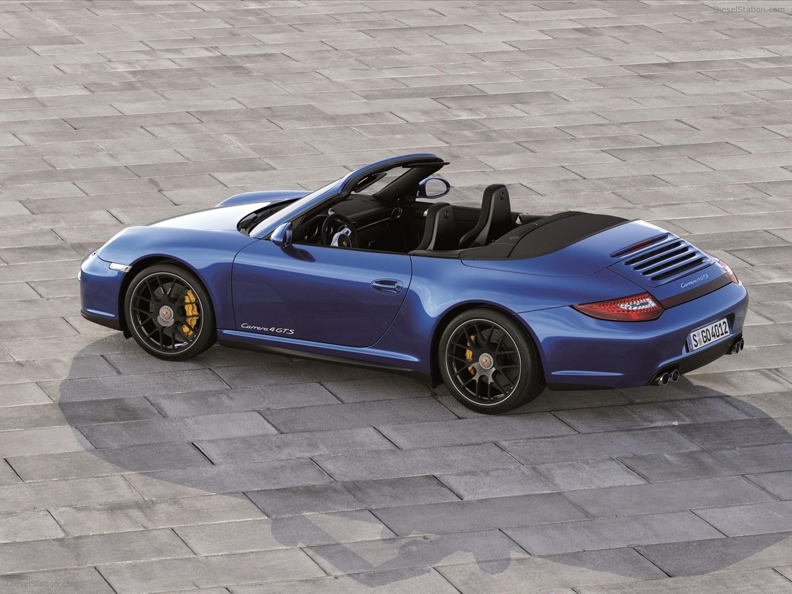 Home Porsche Porsche 911 Carrera 4 GTS Cabriolet 2012 1600x1200