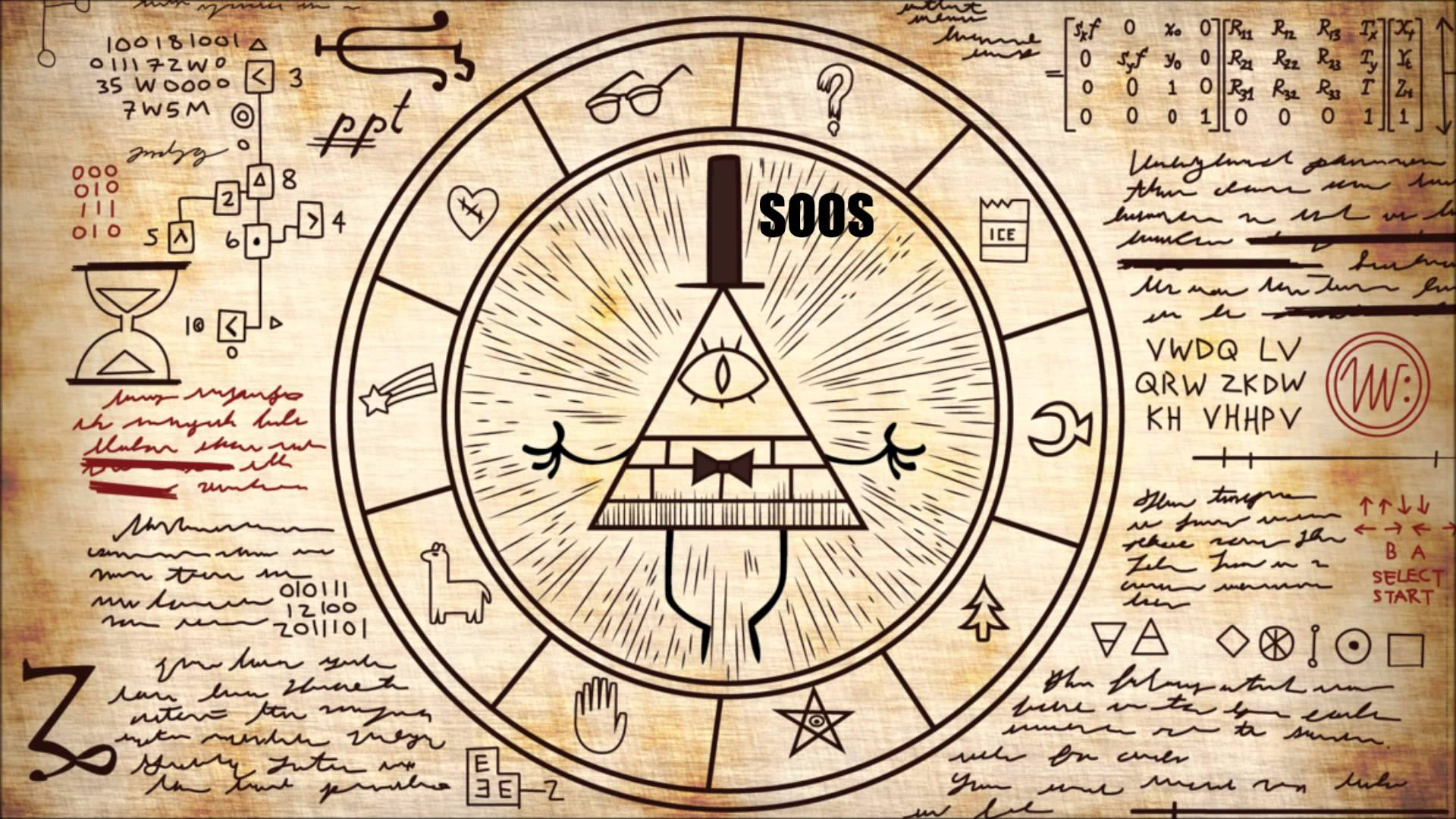 50] Gravity Falls Bill Cipher Wallpaper on WallpaperSafari 1920x1080
