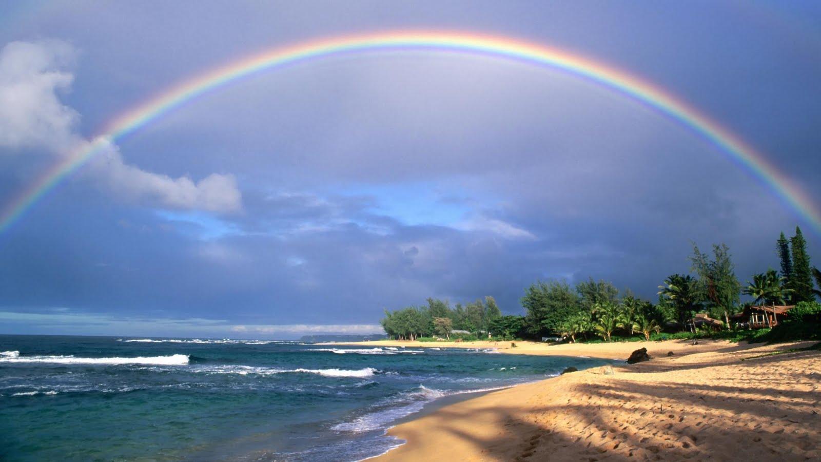 Video Beautiful Rainbows and Lightnings Full HD Wallpapers 1080p 1600x900