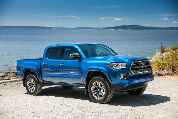 2016 Toyota Tacoma Limited DoubleCab pickup 4x4 wallpaper 4096x2731 736x491