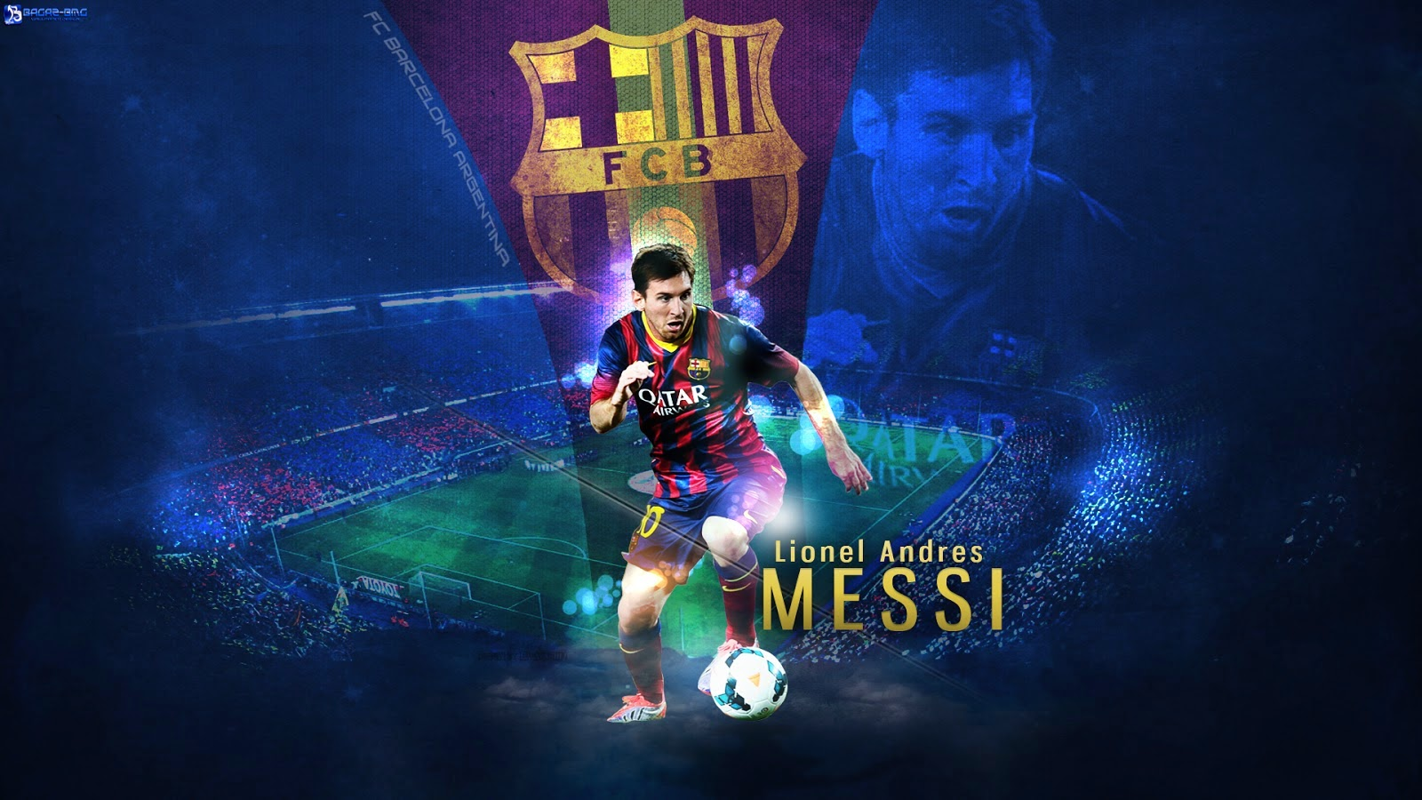 2015 Messi FC Barcelona Wallpapers The Art Mad Wallpapers 1600x900