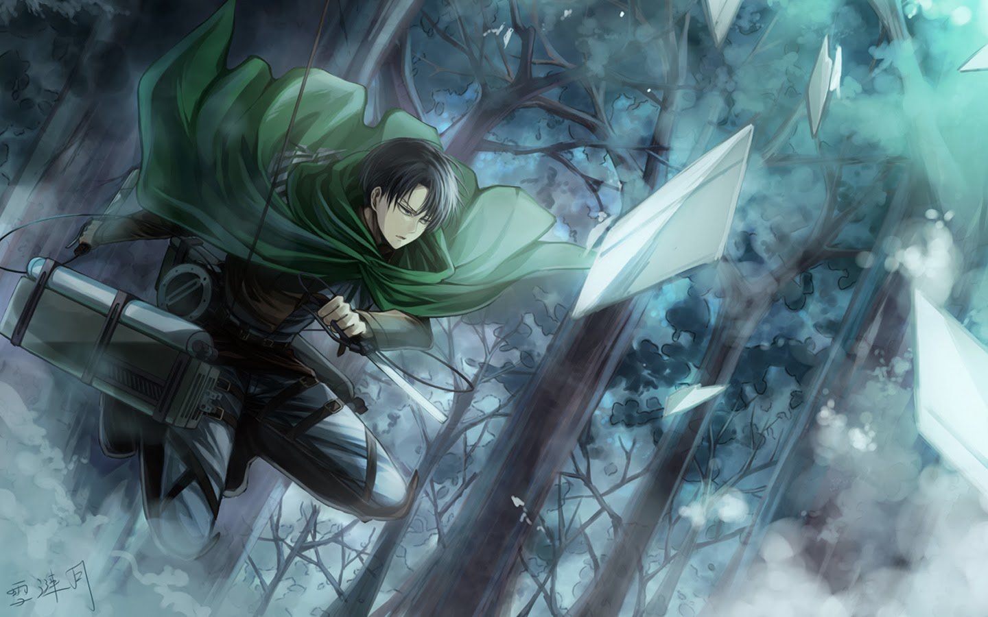 levi attack on titan hd wallpaper 1440x900jpg 1440x900