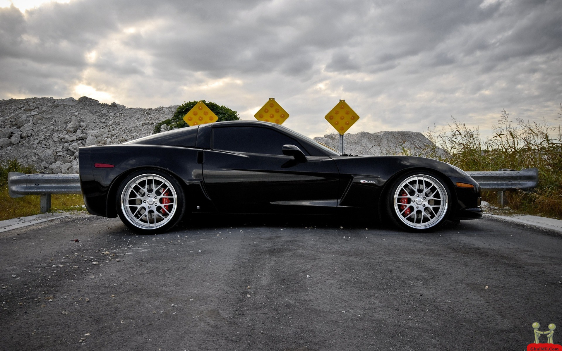 Black C6 Zo6 Wallpaper Wallpapersafari
