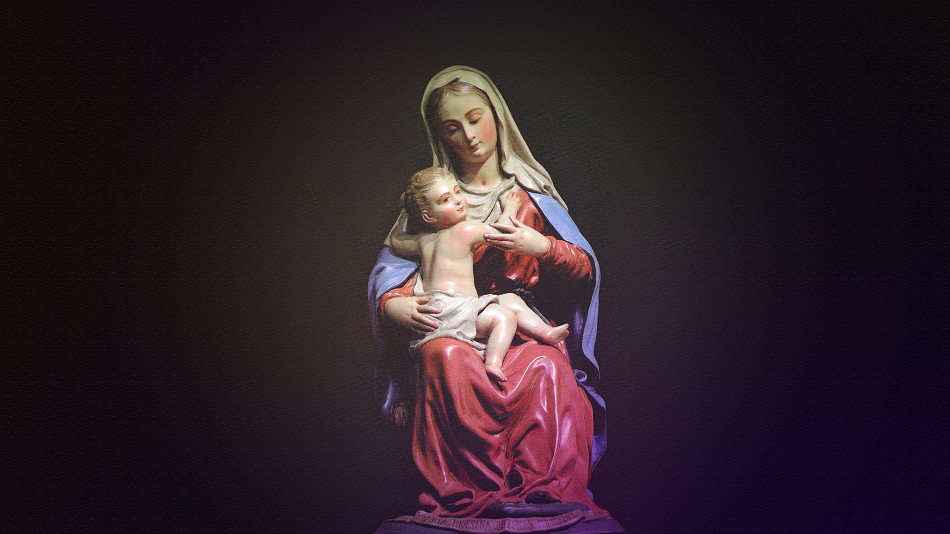 Mary Mother of God Wallpaper 1920x1080