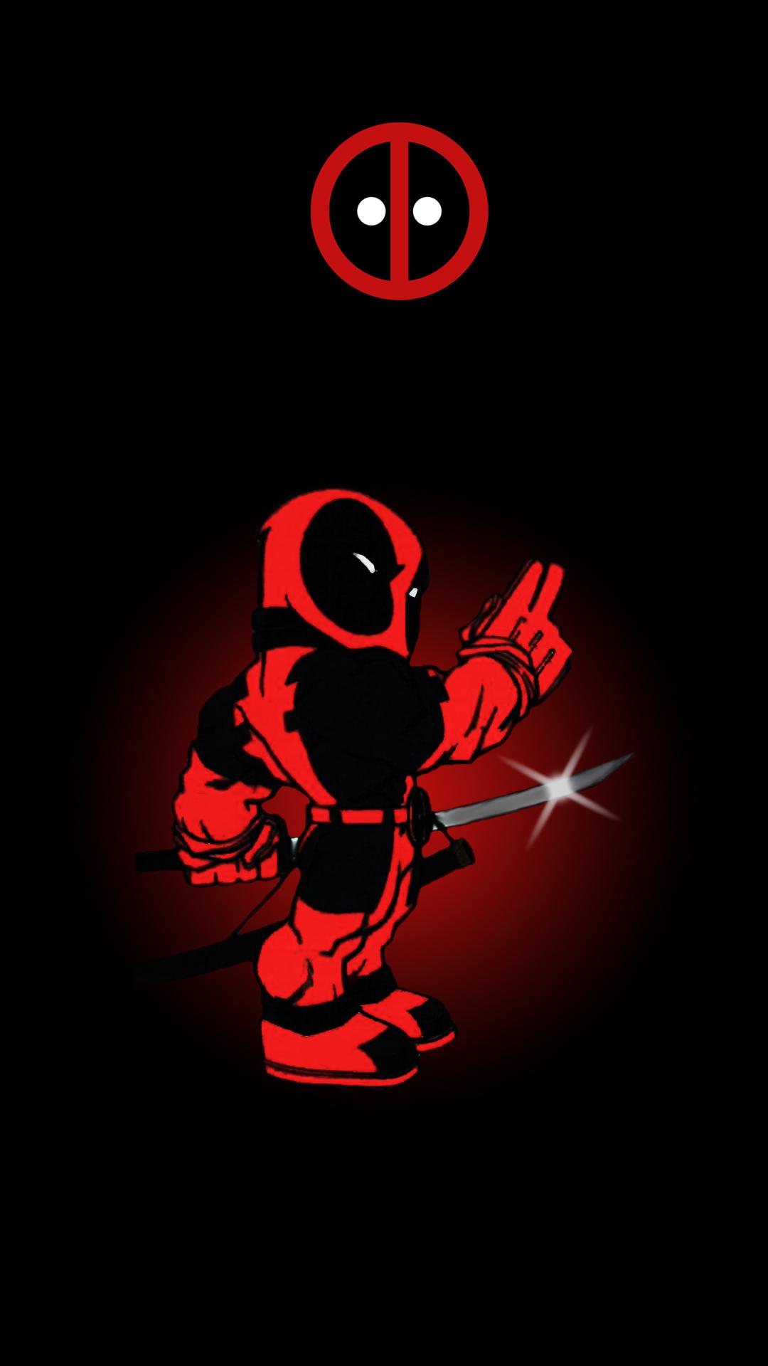 Deadpool wallpaper 1080p wallpapersafari - Marvel android wallpaper hd ...