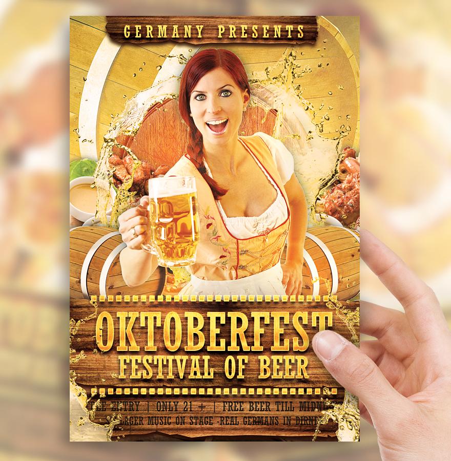 Oktoberfest Festival Flyer Vol 2 by sorengfx 880x900