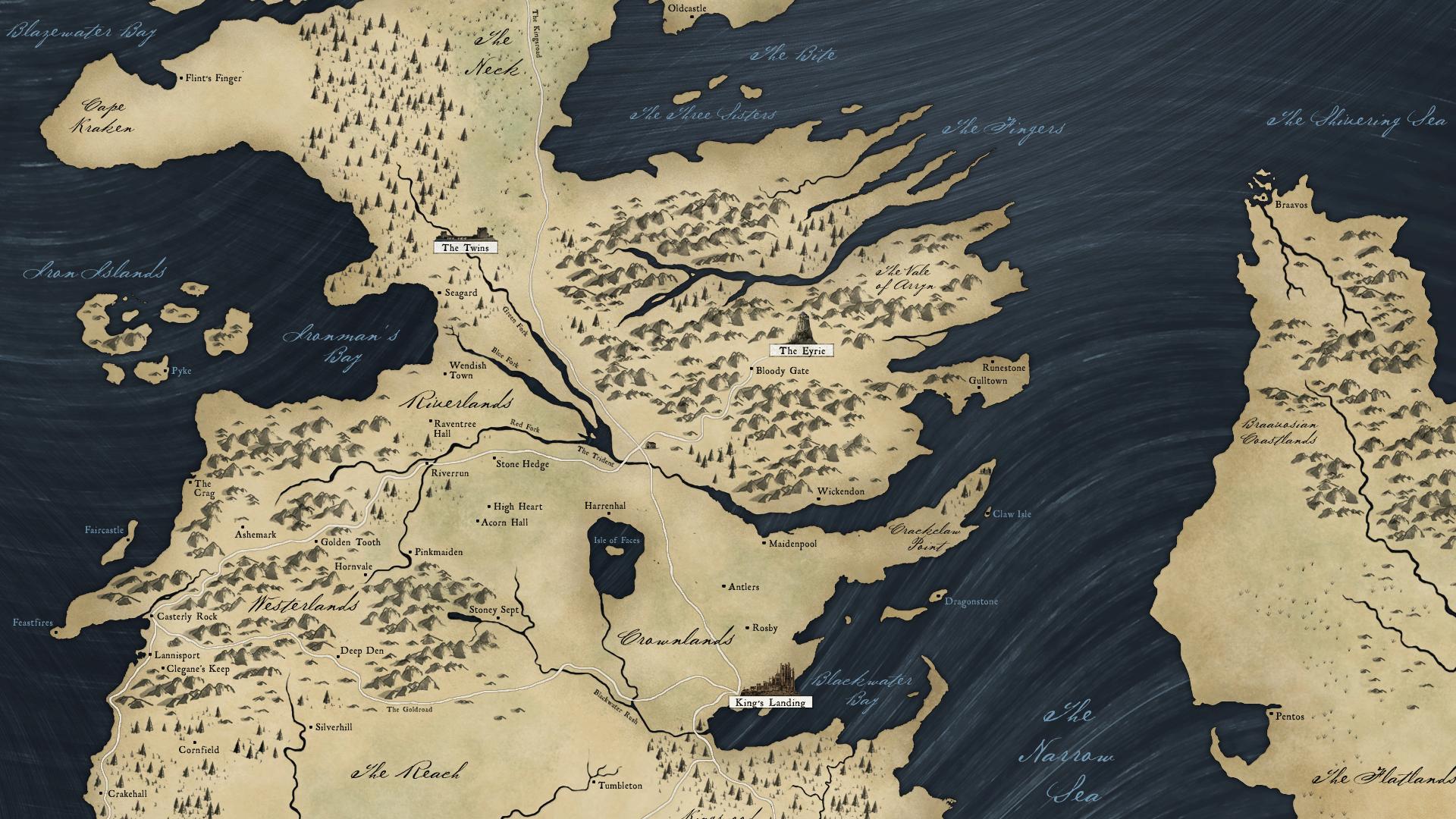 Westeros Karte Hd.45 Game Of Thrones Map Wallpaper On Wallpapersafari