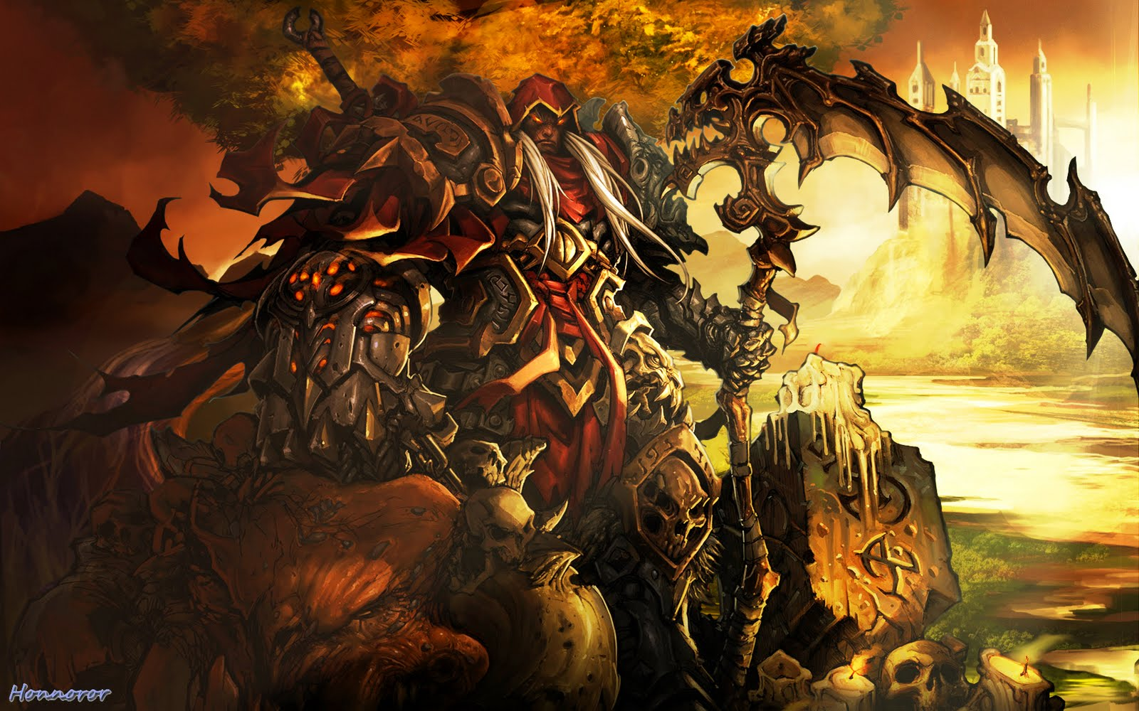 honnoror wallpapers darksiders darksiders 2 vigil games hack slash 1600x1000