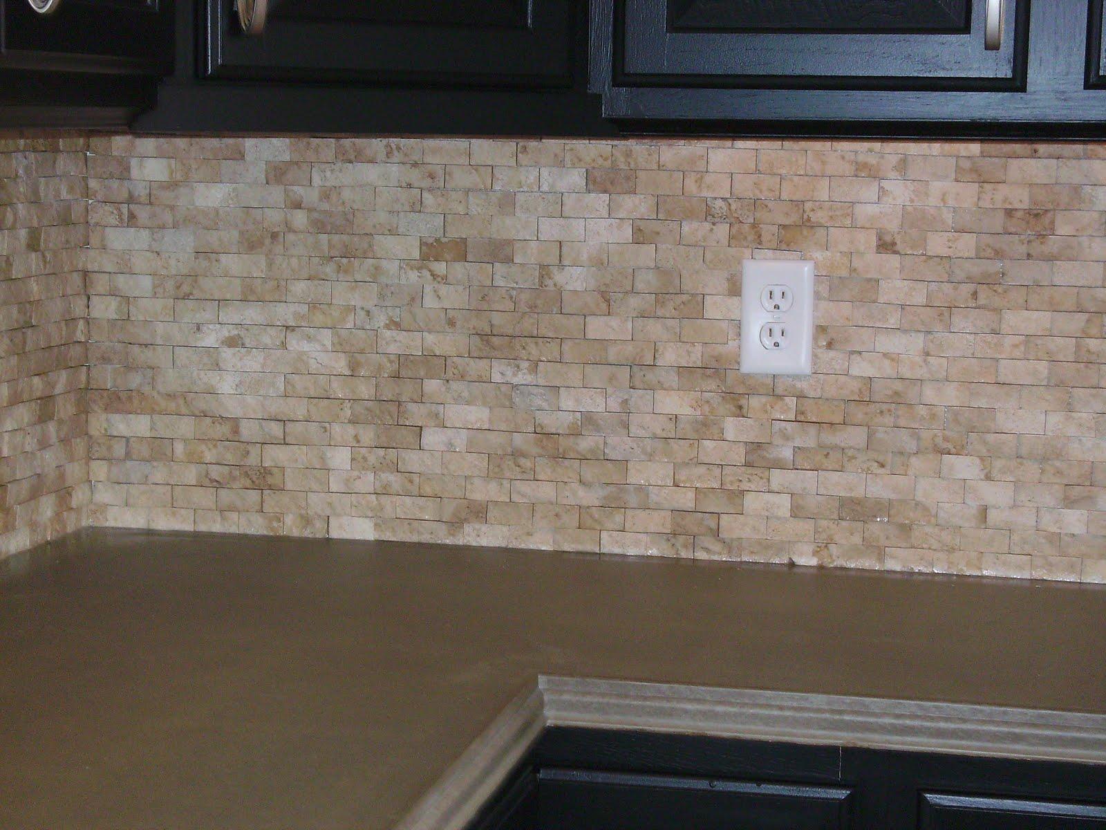 tile wallpaper backsplash stone backsplash kitchen Stone Wallpaper Backsplash Split faced stone backsplash