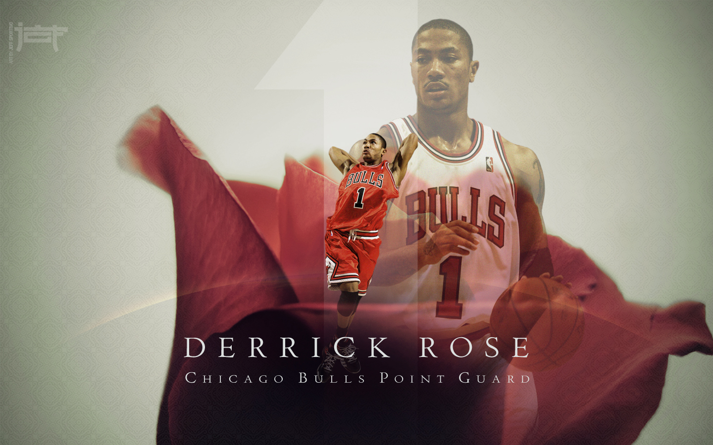 Derrick Rose basketball wallpapers NBA Wallpapers Basket Ball 1440x900