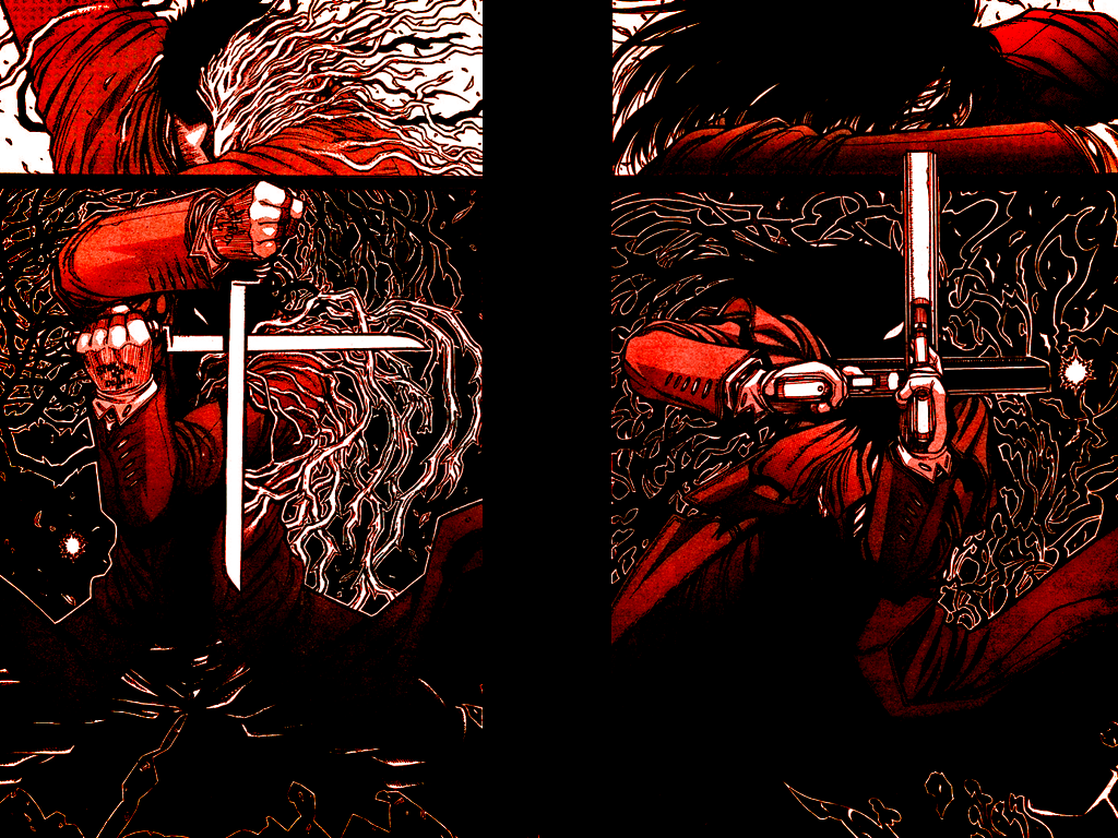 Hellsing Ultimate Wallpaper 1600x900 Download Alucard 1024x768