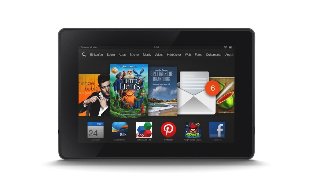 Tablet PCs Amazon Kindle Fire und Amazon Kindle Fire HDX  Bilder 1024x576