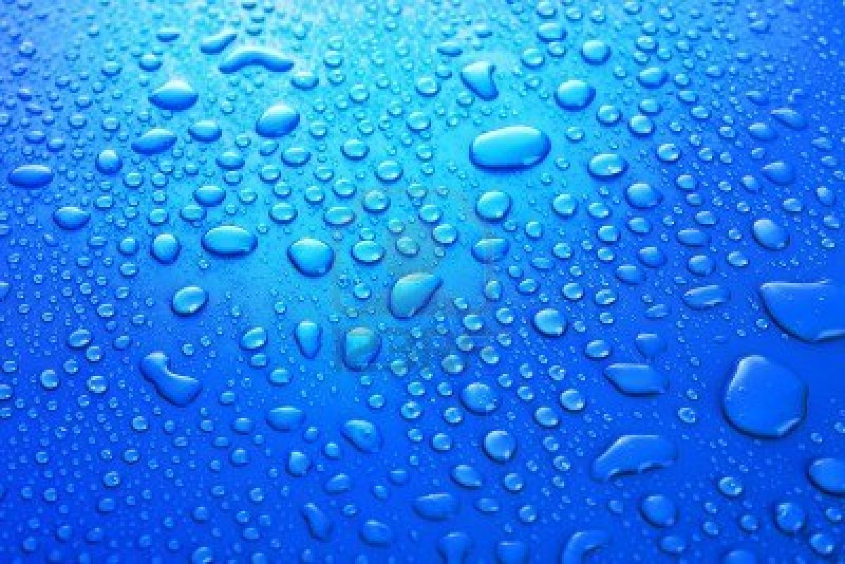 Background Blue Water Droplets Wallpaper - WallpaperSafari