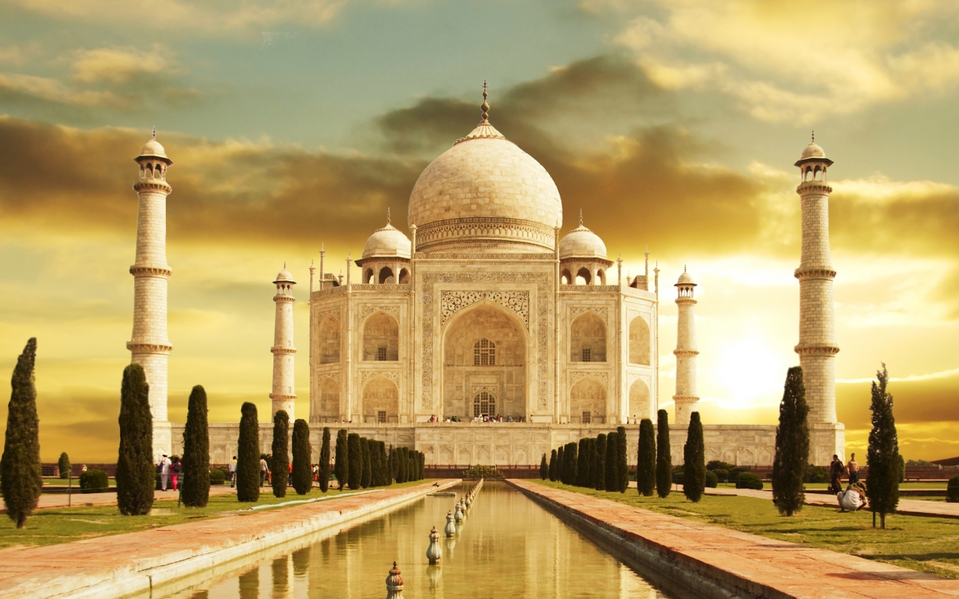 Taj Mahal India Wallpaper 5 HD Desktop Wallpapers 1920x1200