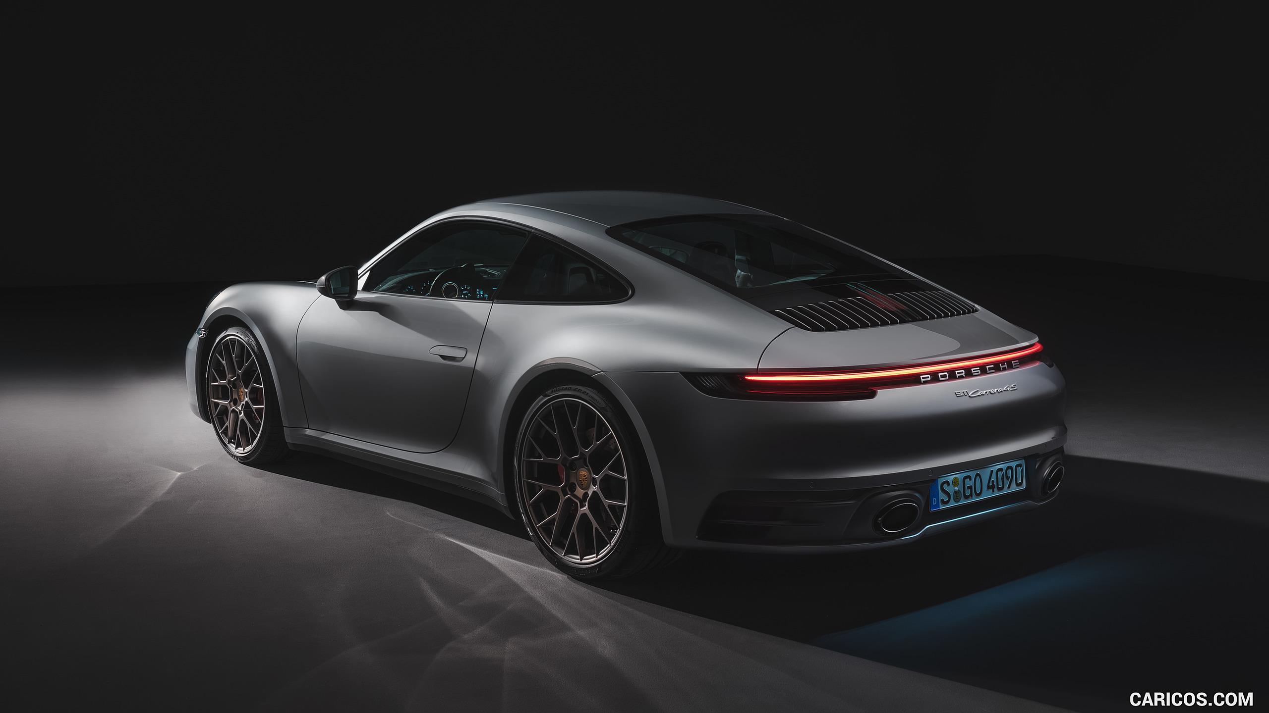 2020 Porsche 911 Carrera 4S   Rear Three Quarter HD Wallpaper 32 2560x1440