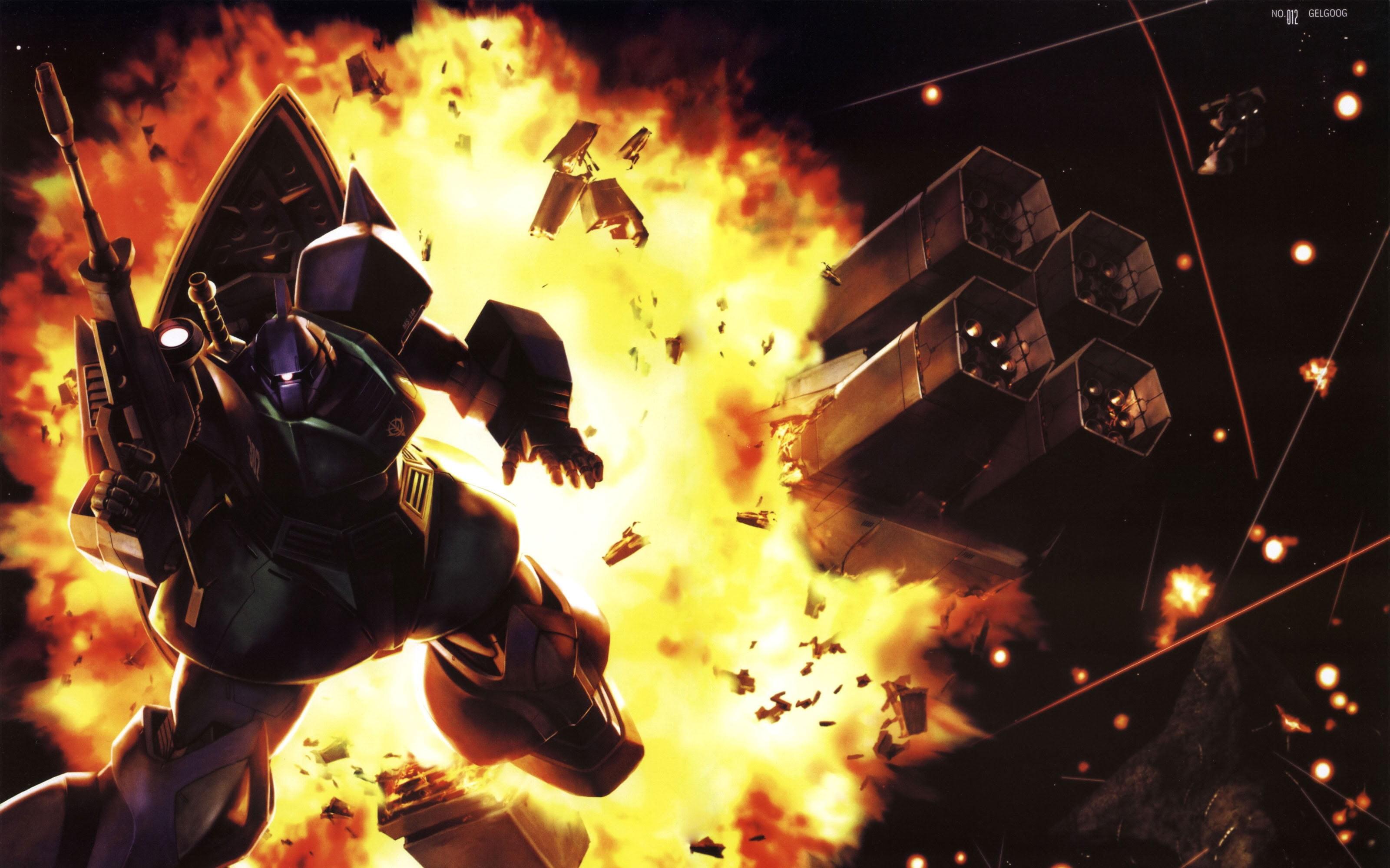 Gundam Wing digital wallpaper Gelgoog Mobile Suit Gundam HD 3200x2000