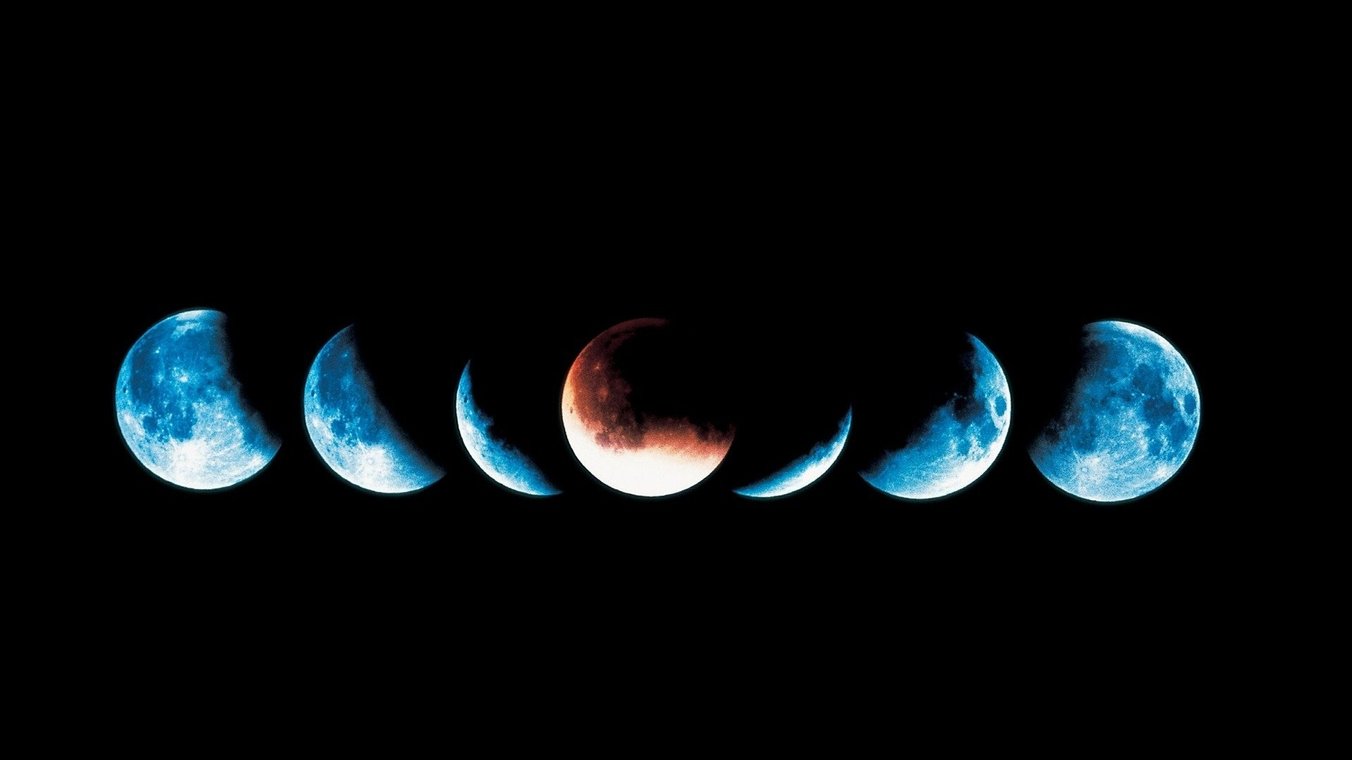 Phases of the Moon wallpaper   886068 1920x1080