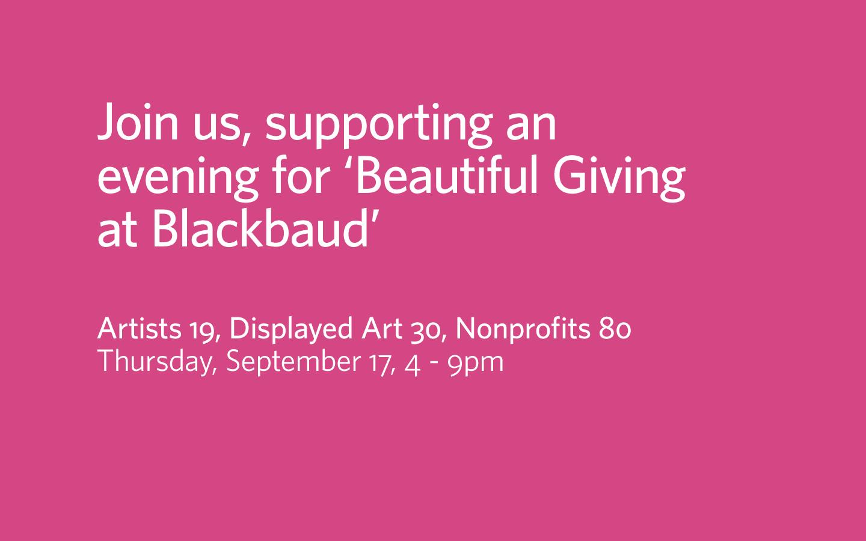 Sponsoring our friends at Generous Art  Studio8 1440x900