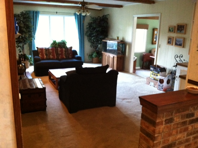 Paneling Removal Skim Coating Painting Hardwood Floor and Trim Work 640x478
