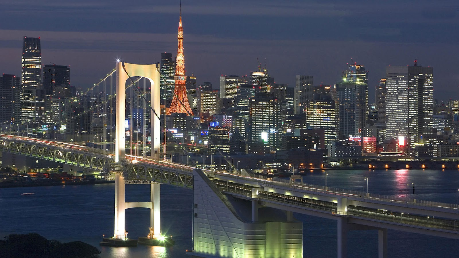 World Beautifull Places Tokyo Japan City 1600x900