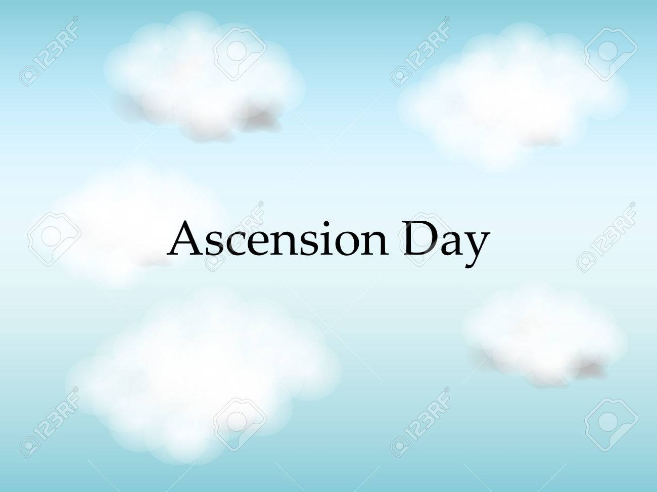 Ascension Day Background Royalty Cliparts Vectors And Stock 1300x974