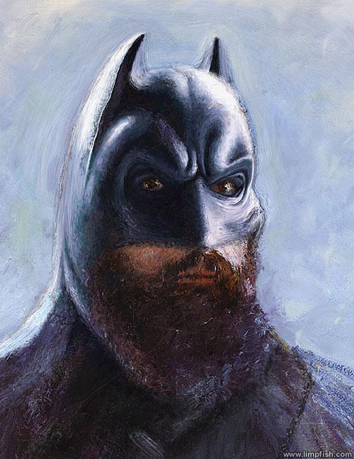 Batman Van Gogh   Coloring Pages   Free Download HD Wallpapers