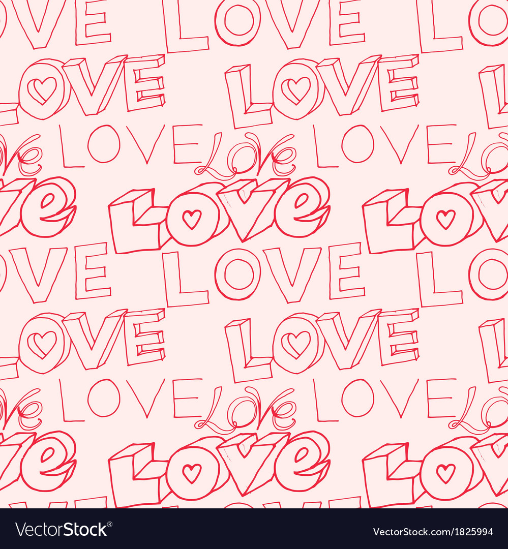 Words i love you on pink background Royalty Vector 999x1080