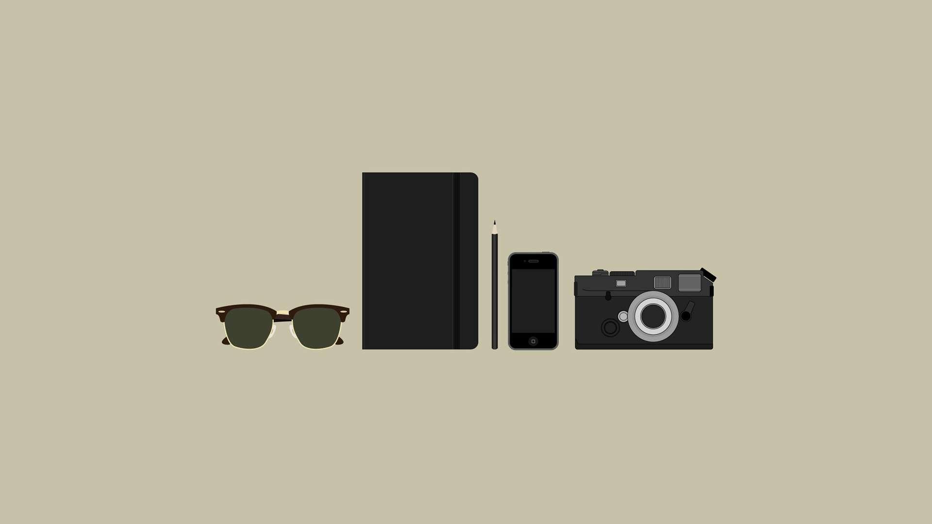 Hd wallpaper hipster - Hipster Gear Hd Wallpaper Fullhdwpp Full Hd Wallpapers 1920x1080