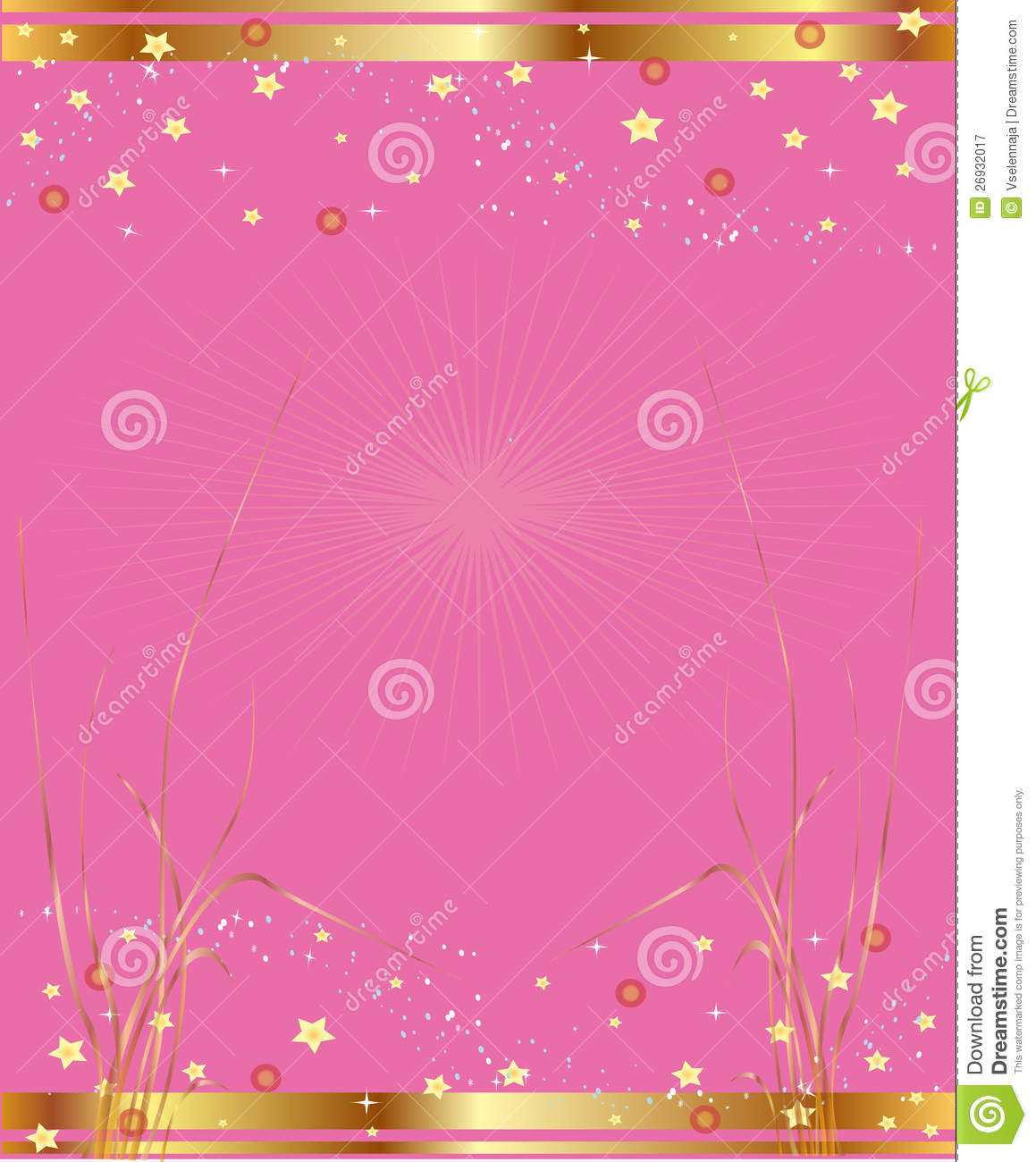 Pink and Gold Desktop ...