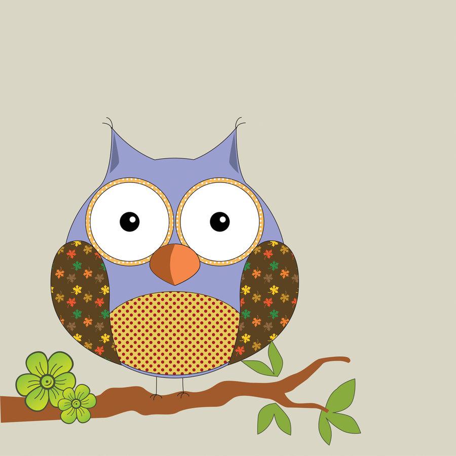 Cute Owl Art Wallpaper Cutest Ever By Shusik 900x900