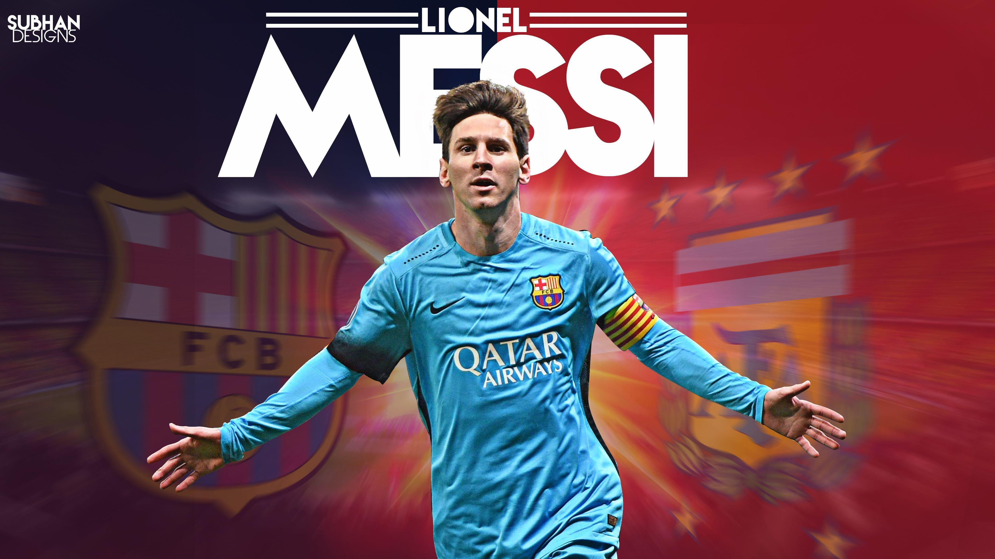 Lionel Messi Wallpapers 2016 3840x2160