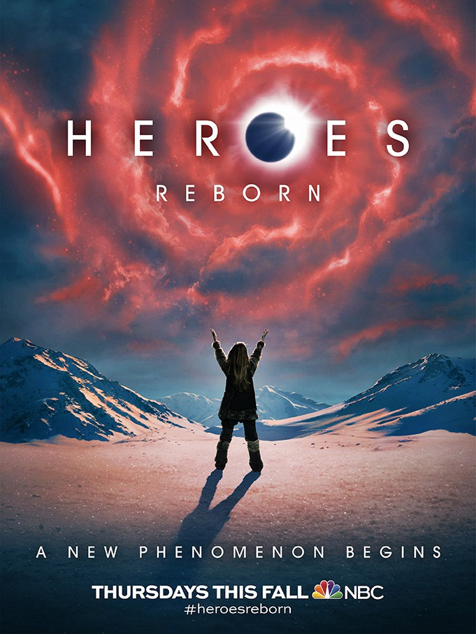 Heroes Reborn New Character Posters 681x906