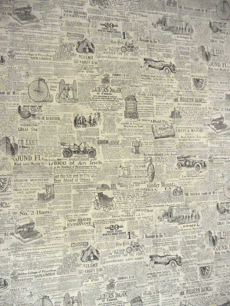 Old newsprint 10001333 pixels paper Pinterest 736x981