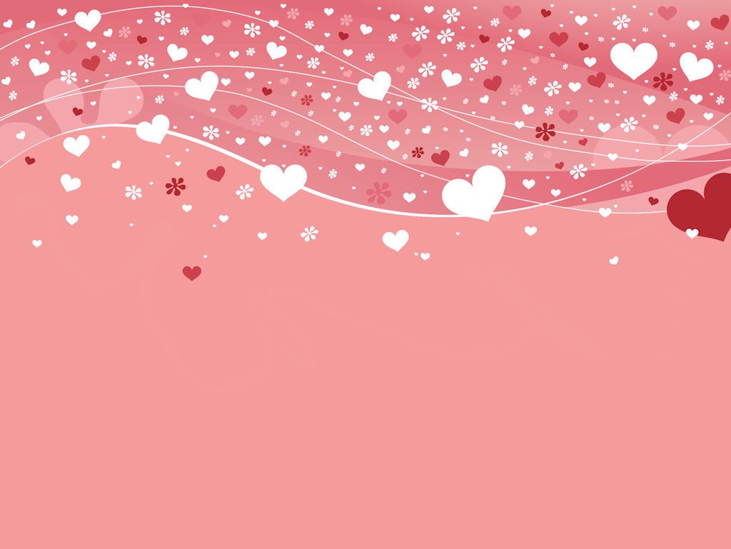 Free Download Comheart Pink Love Wallpapers Cute Backgrounds