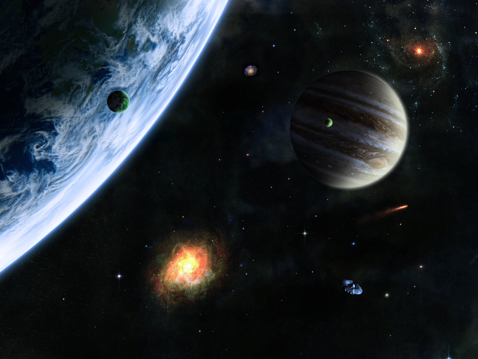 Backgrounds Of Outer Space download on the 1600x1200