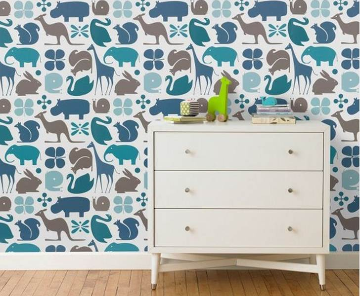 wallpaper for kids rooms eco reusable wall decals for kids etsy 728x600