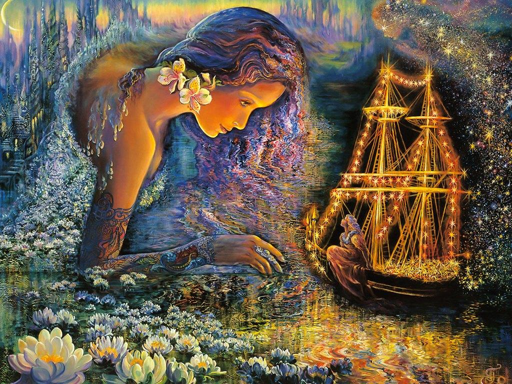 well known english painter josephine wall josephine wall art works 1024x768
