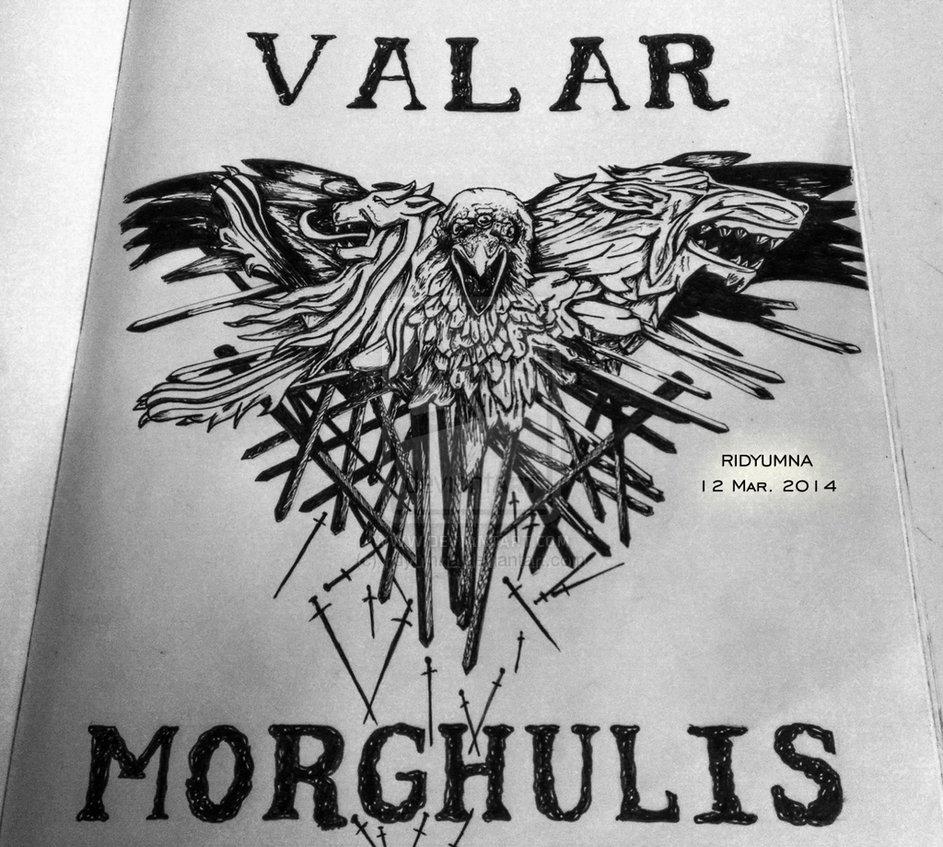 Valar Morghulis by ridyumna 943x847