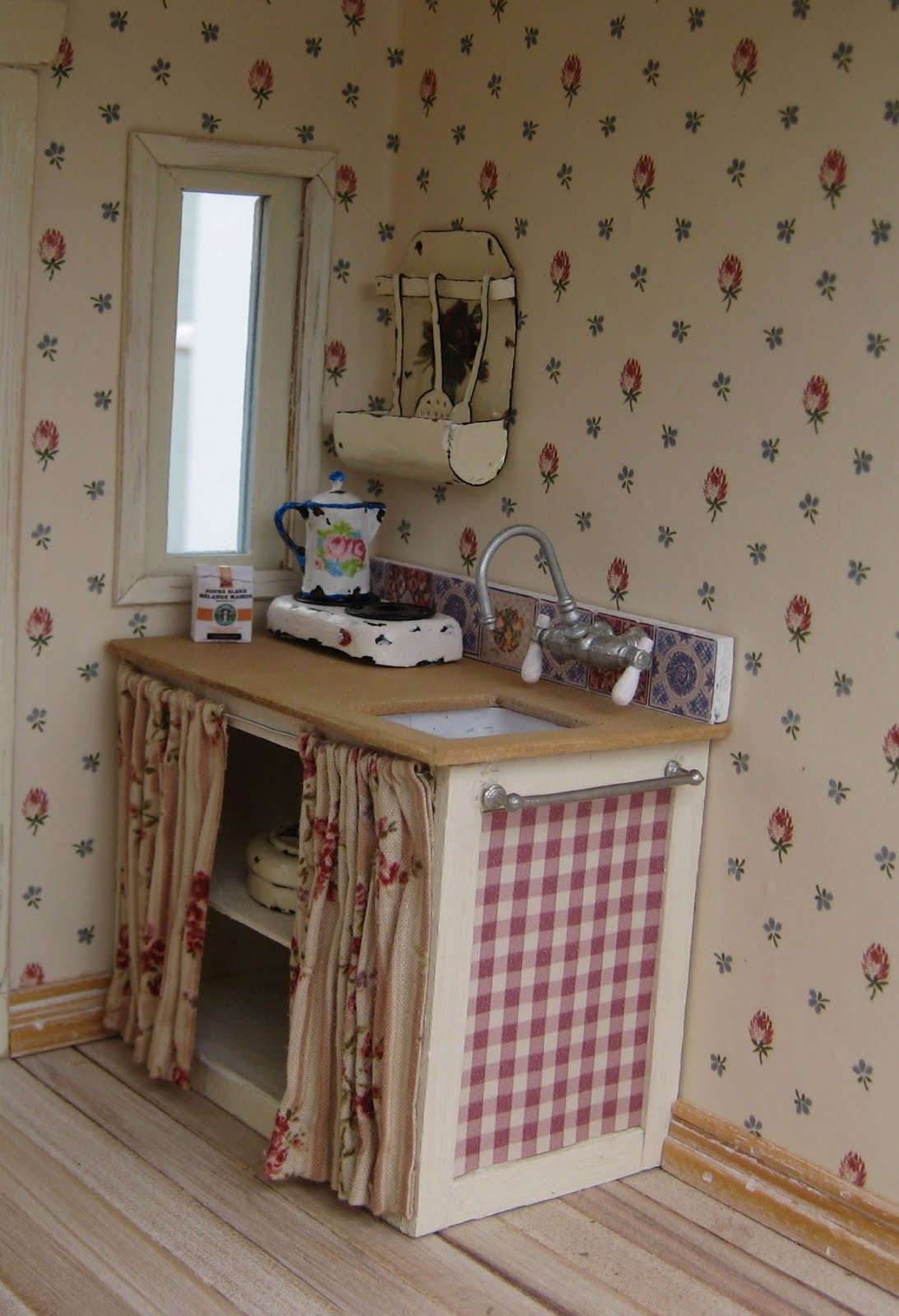 50 Shabby Chic Kitchen Wallpaper On Wallpapersafari