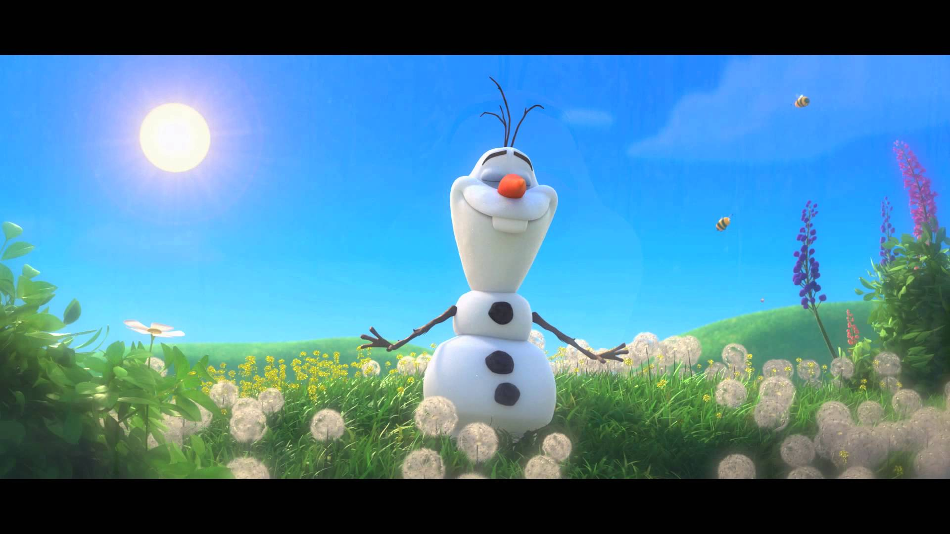 FROZEN MomStart Singing As Olaf In Summer Song 112013 1920x1080