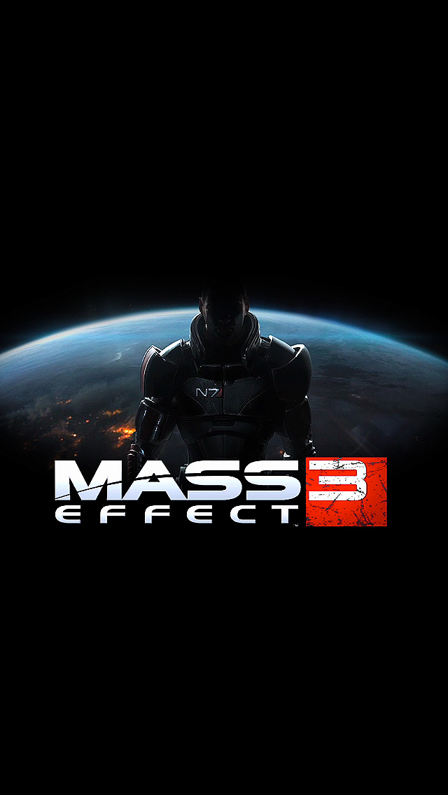 Mass Effect 3 video game   Best iPhone 5s wallpapers 640x1136