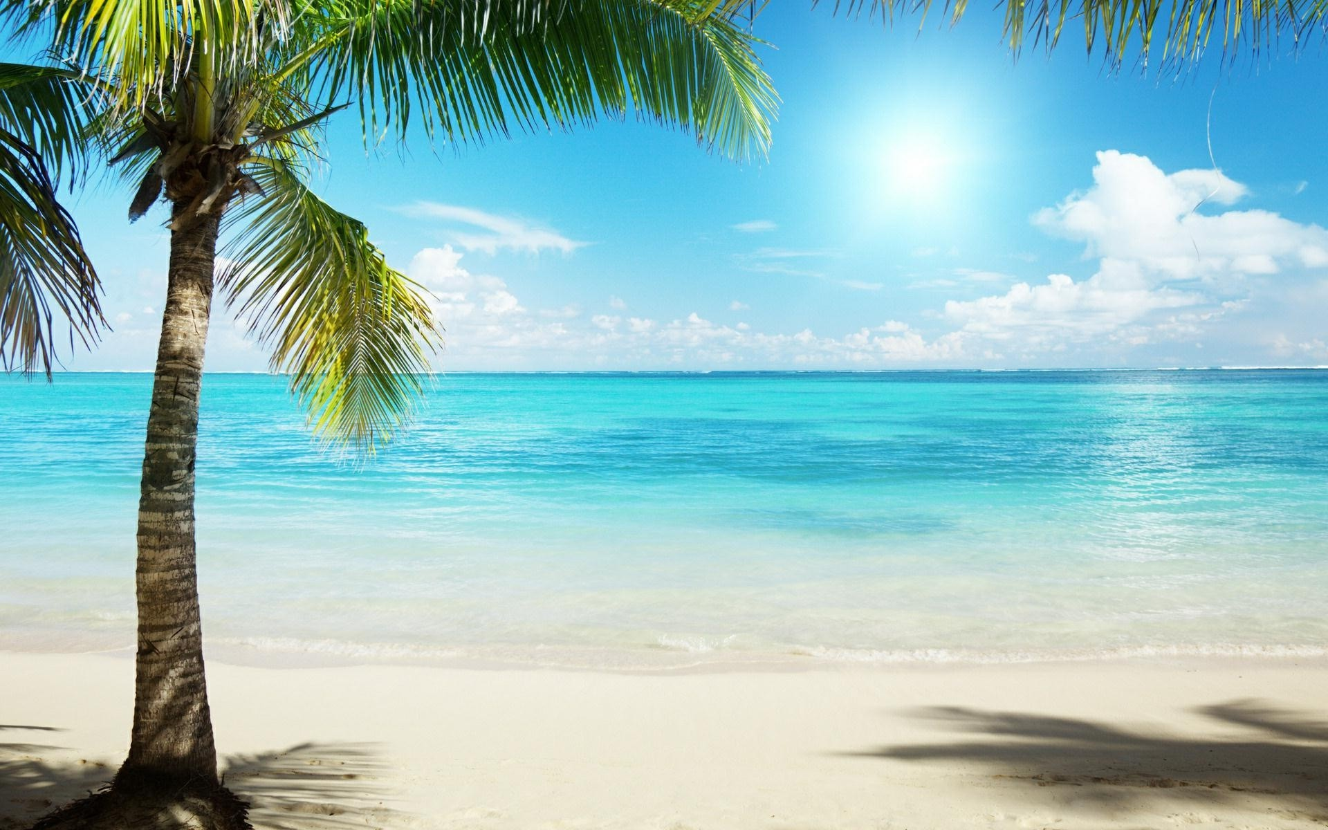 Hd Tropical Island Beach Paradise Wallpapers And Backgrounds: Tropical Beach HD Desktop Wallpaper