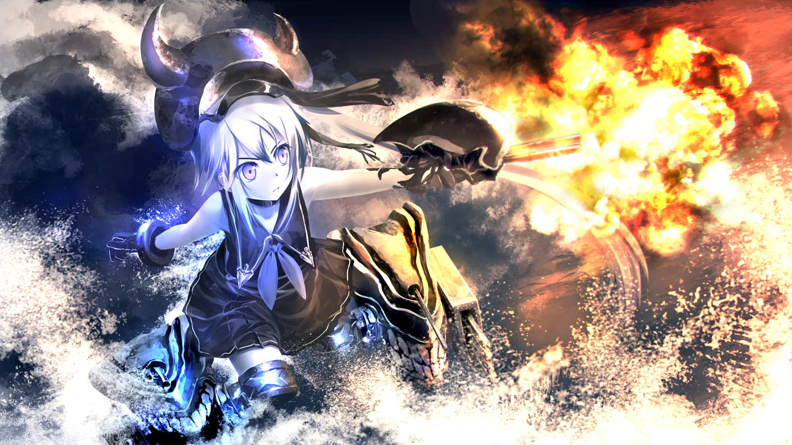 29 Fresh Kantai Collection Backgrounds SDA74 4K Ultra HD Wallpapers 1600x900