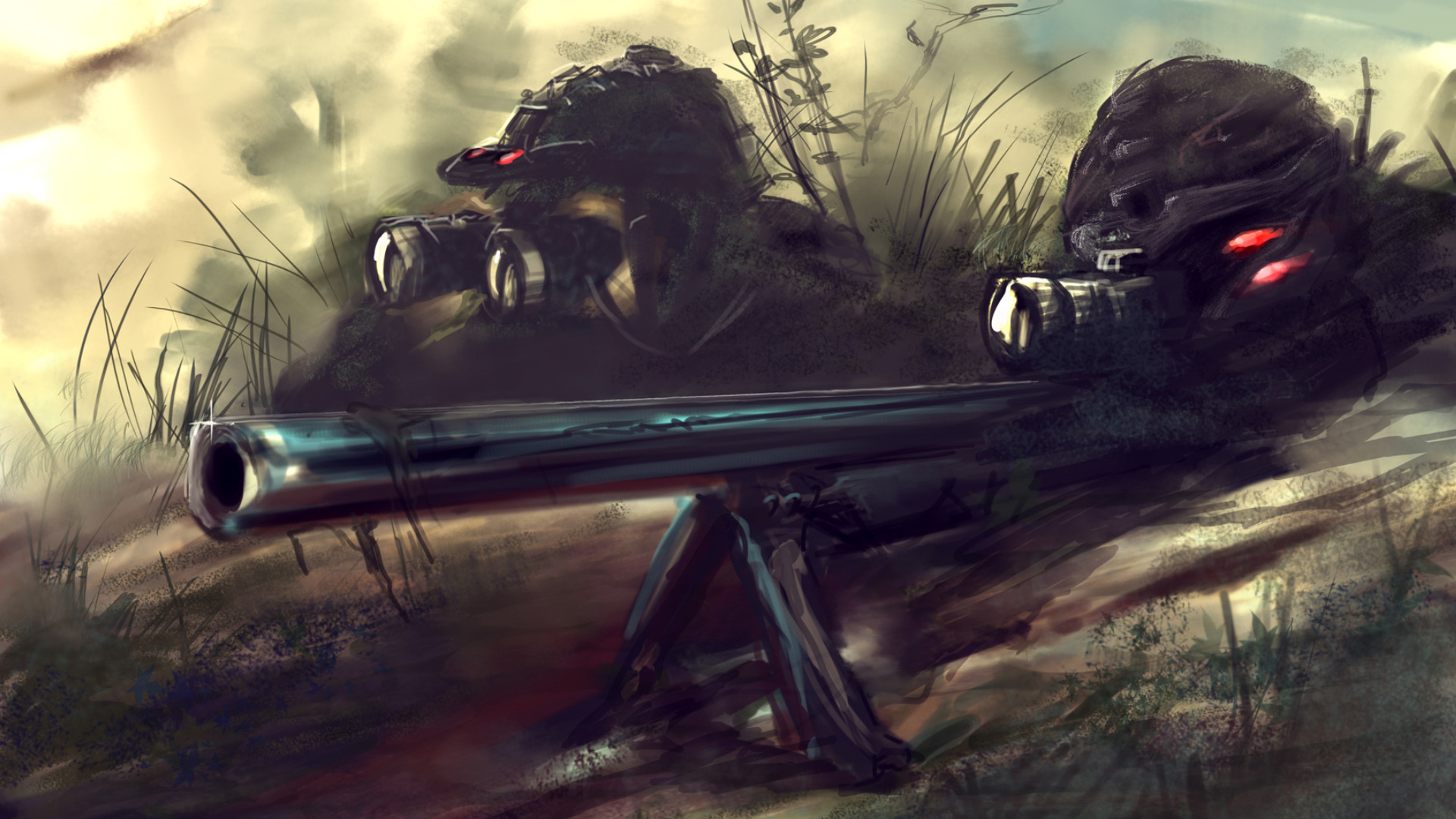Wallpaper Abyss Explore the Collection Weapons Sniper Rifle Sniper 1920x1080