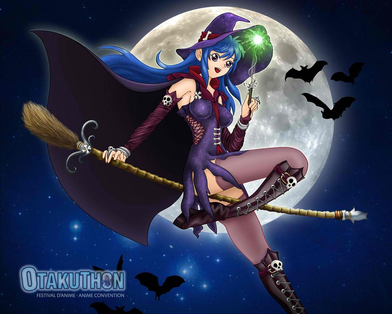 Halloween Witch   After Dark Wallpaper 26753992 1280x1024